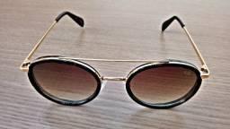 Óculos de sol Feninino Chillibeans - Armação folhada a Ouro 24k
