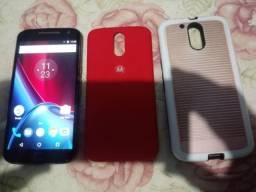 Vendo Moto G4 plus , 32 gigas, desbloqueio biométrico