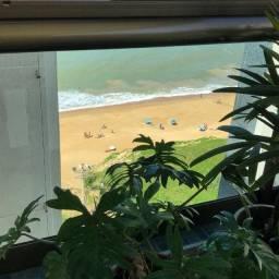 TM - 3 qts, 1 suite, Dce, varanda lateral com vista para o mar da Praia de Itaparica