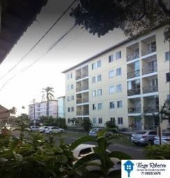 Apartamento 2/4 com suíte e varanda | 2°andar| Nascente| 55m²| - Vila de Abrantes