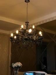 Lustre com lâmpadas(todas funcionando)-R$500,00
