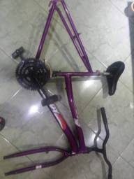 Quadro para bicicleta feminina