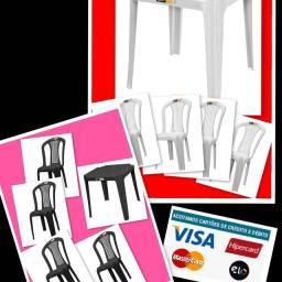 Mesas, Cadeiras, Bancos, Baldes e Etc.