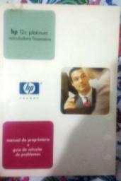 Manual do proprietário e guia de soluções de problemas HP12c
