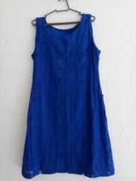 Vestido feminino azul