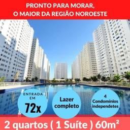 Apartamento 2 quartos 60 metros Tropicale Borges Landeiro