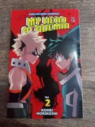 Mangá: Boku No Hero #2