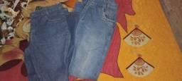 Duas calça tamanho 38