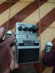 Título do anúncio: Vendo pedal delay digitech