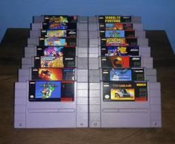 Título do anúncio: Cartuchos de Super Nintendo - A partir de R$ 50,00