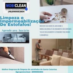 Título do anúncio: LIMPEZA e Impermeabilização de estofados
