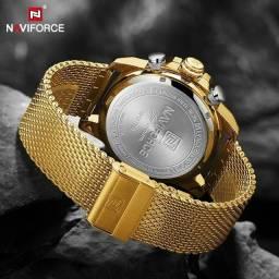 Relógio importado masculino naviforce