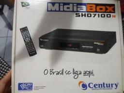 Receptor MidiaBox shd7100 Campina grande