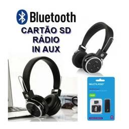 Fone de ouvido Bluetooth KT-B05 + Cartão Sd
