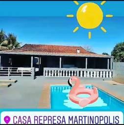 Casa de Veraneio na Represa de Martinópolis