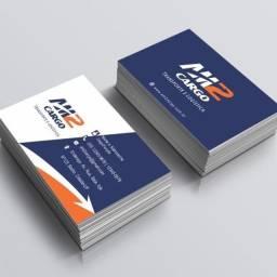 Título do anúncio: Cartão de Visita por 35,00 ( 500 unidades )
