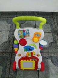 Andador Empurrador Infantil Musical Educativo Com Brinquedos