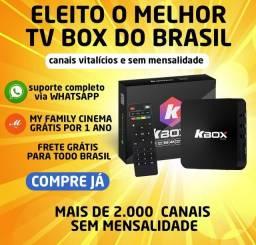 KboxTv c + d 2000 canais pague só pelo aparelho