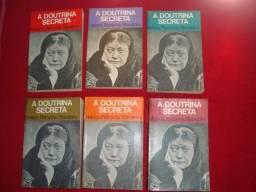 Coleção Livros: A Doutrina Secreta - Helena Blavatsky - 6 Volumes