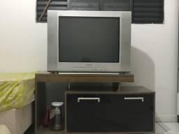 Tv com rack
