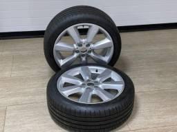 Título do anúncio: Jogo pneus Run Flat e aro Mini Cooper