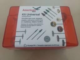 Kit universal para prótese American Burrs