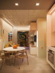 Título do anúncio: [ENTREGA JUL/23] Apartamento no 5° andar com 53,37m², 2 Dormitórios, 1 Suíte, Sacada com C