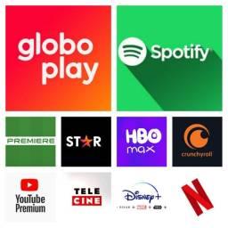 Título do anúncio: Globo Play Netflix Disney Plus