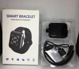 V6 Smartwatch Tela Colorida Pulseira