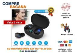 Mini Fone De Ouvido E6s True Bluetooth 5.0 Estéreo Sem Fio
