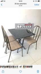 Título do anúncio: Mesa 4 Cadeiras OFERTA DA SEMANA