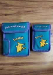 Vintage Pokemon Nintendo Game Boy Color Case Bag Anos 90 (Raridade)