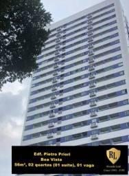 Alugo Apartamento na Boa vista, 56 m², 02 quarto (01 suíte)