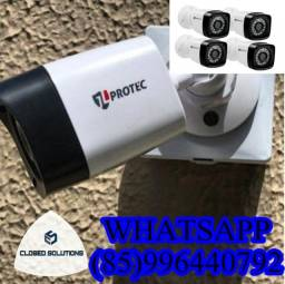 Câmeras de Segurança Kit 4 câmeras instalado a partir de 1300,00$