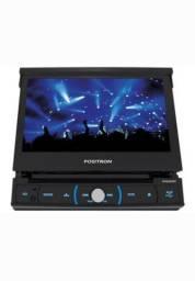 Título do anúncio: Dvd Player Positron Bluetooth Retrátil