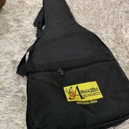 Capa Bag Guitarra Nylon Super Luxo
