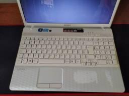 Notebook sony vaio modelo PCG-71911X com upgrade de processador