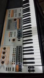 Teclado sintetizador Casio xwp1 + potência e caixa de som