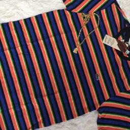 Camisa, toca e boné