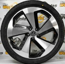 Roda e pneu zero