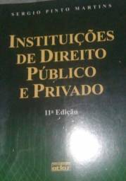 Título do anúncio: Vendo Livro Instituições de Direito Público e Privado Seminovo