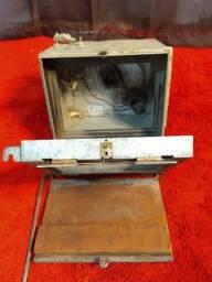 Compartimento para revelar fotos de monóculo ,muito antigo