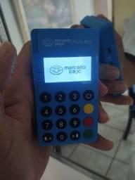 Máquina de cartão crédito- Mercado Pago com função NFC.