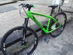 Bicicleta ARO 29 Rino Everest com peças Shimano