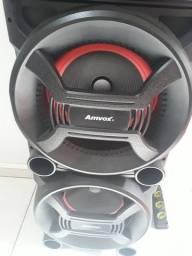 Caixa de som amplificada MARCA AMVOX nova