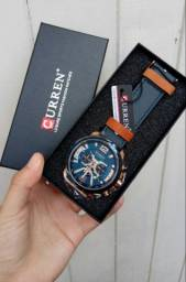Relógio Curren Rosé Gold Original Aço inoxidável 3ATM