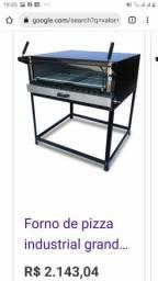 Título do anúncio:  vendo forno industrial