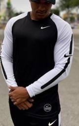 Camisa Manga Longa Dry Fit Nike