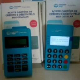 Maquina de cartão do mercado pago .d led
