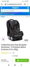 Cadeirinha Burigotto Reclinável 0 a 25kg<br>- ACEITO CARTÃO